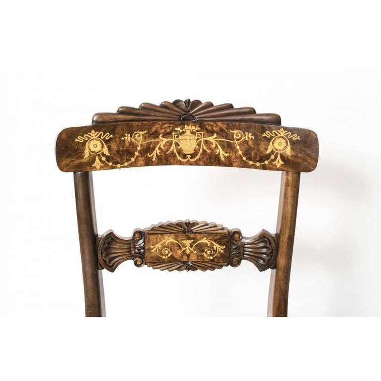 Antique Elizabethan Revival Pollard Oak Dining Table 19th Century and 14 Chairs For Sale 12