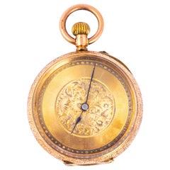 Antique 14 Carat Gold Pocket Watch