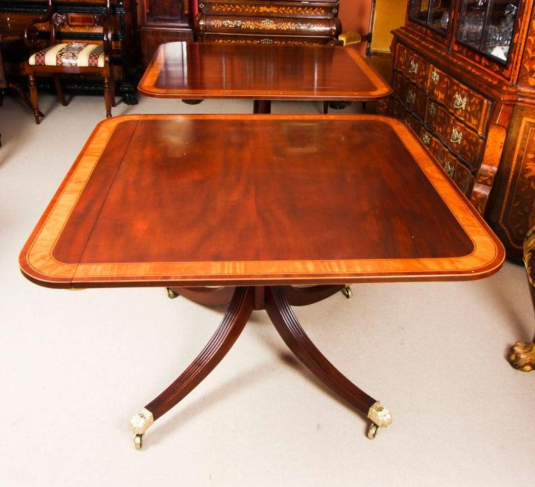 Antique Regency Revival Metamorphic Dining Table, 19th Century 5