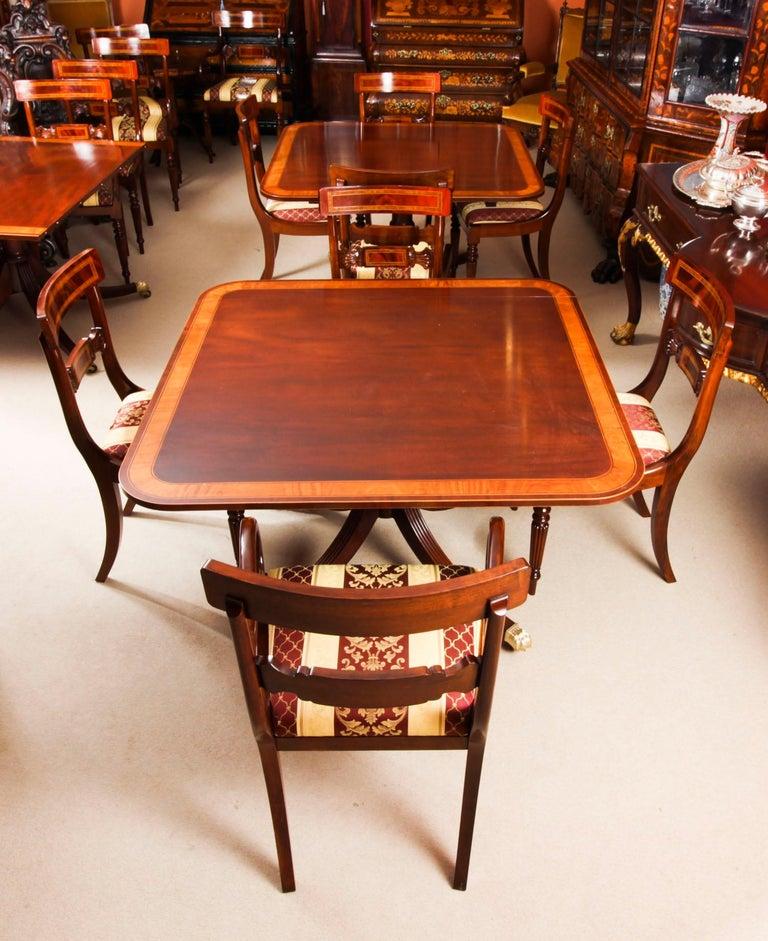 Antique Regency Revival Metamorphic Dining Table, 19th Century 7