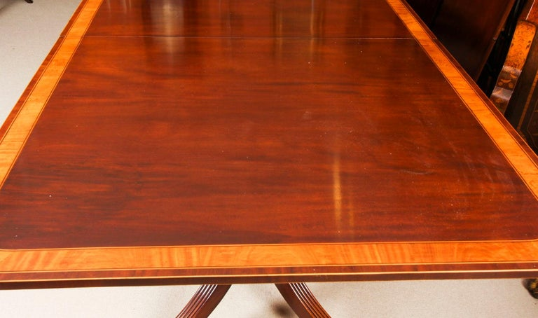 Antique Regency Revival Metamorphic Dining Table, 19th Century 10