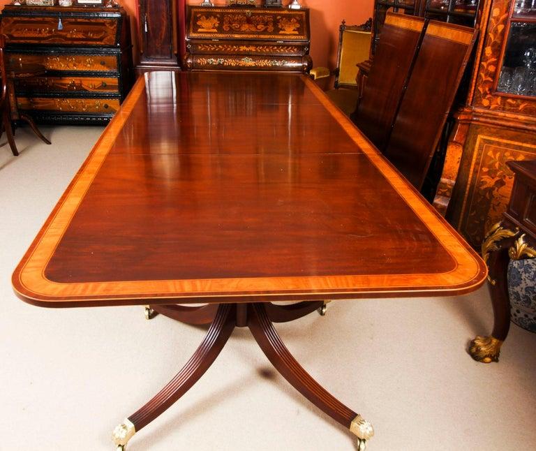 Antique Regency Revival Metamorphic Dining Table, 19th Century 11