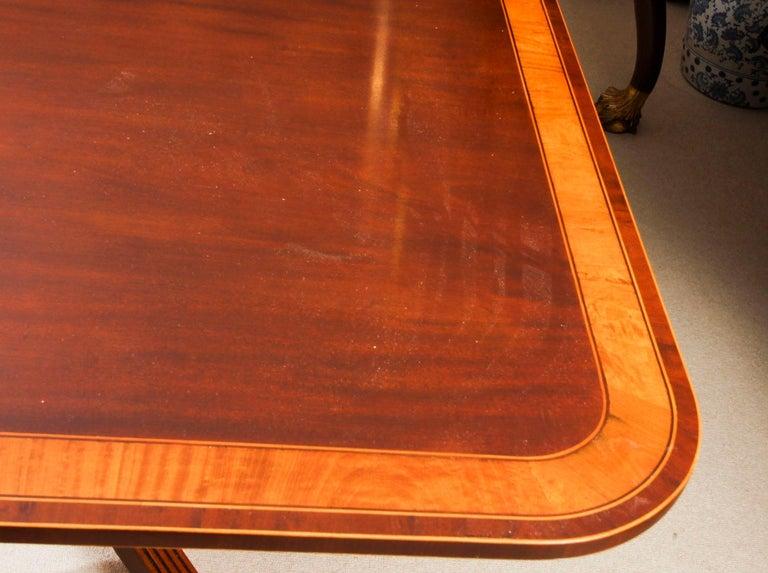 Antique Regency Revival Metamorphic Dining Table, 19th Century 12