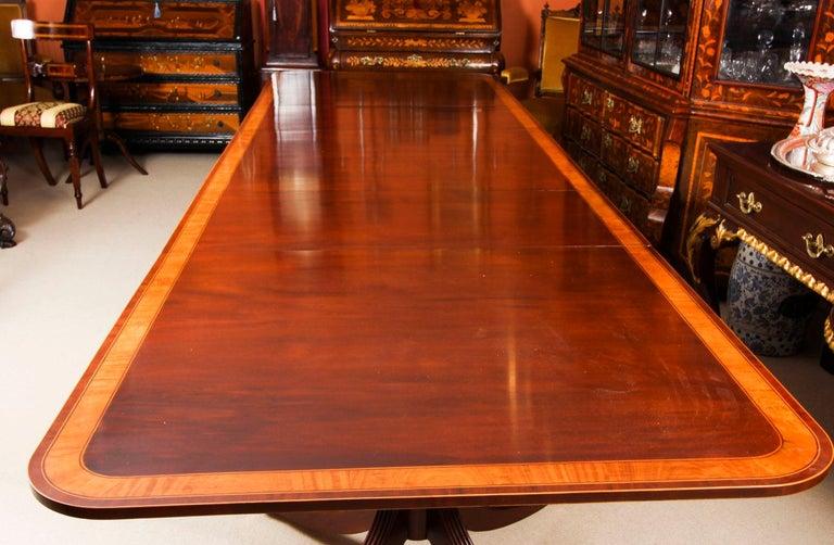 Antique Regency Revival Metamorphic Dining Table, 19th Century 13