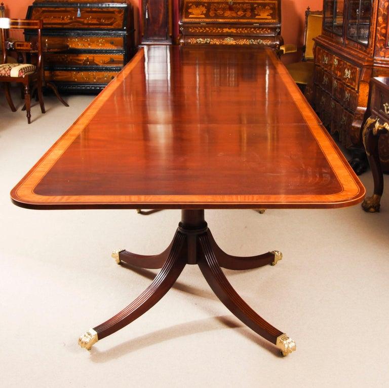 Antique Regency Revival Metamorphic Dining Table, 19th Century 14