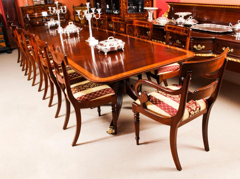 Antique Regency Revival Metamorphic Dining Table, 19th Century In Good Condition In London, GB