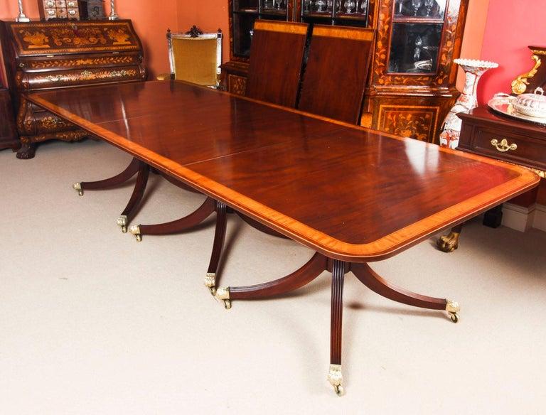 Antique Regency Revival Metamorphic Dining Table, 19th Century 1