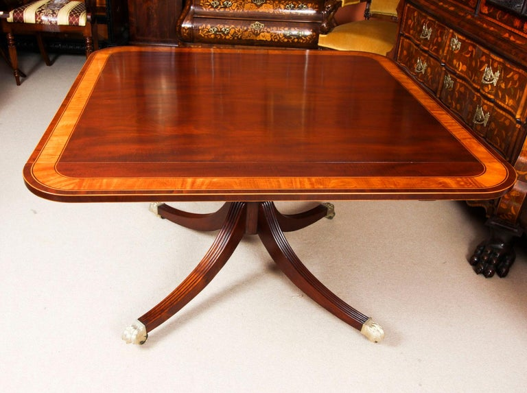 Antique Regency Revival Metamorphic Dining Table, 19th Century 4