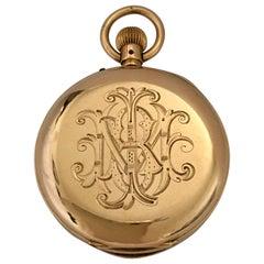 Antique 14K Gold Penlington & Batty Liverpool & Manchester Small Pocket Watch