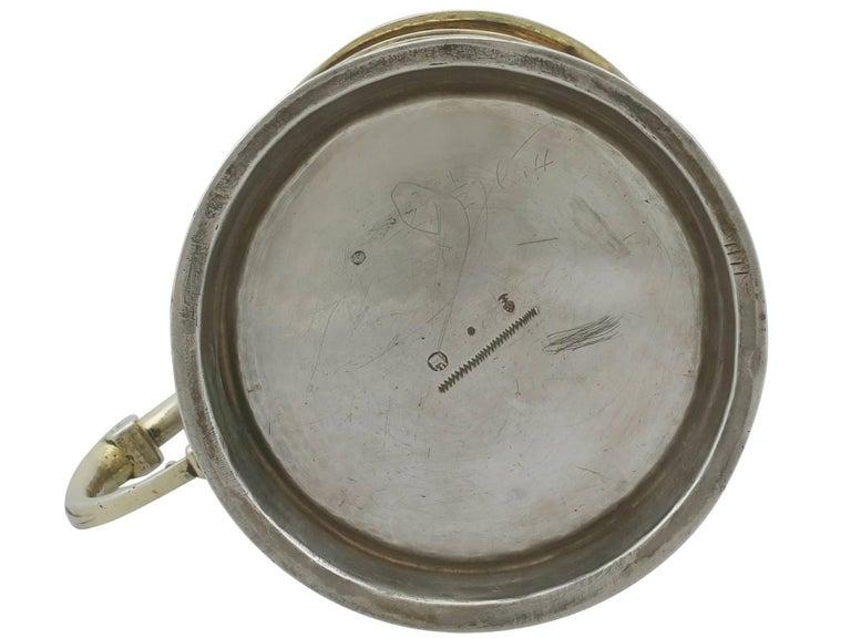 Antique German Silver Tankard For Sale 4