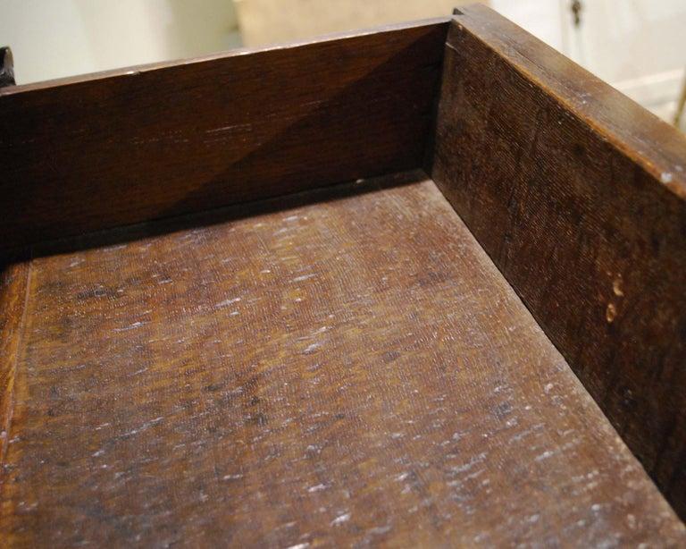 Antique 17th Century Dutch Renaissance Dresser in Oak and Walnut For Sale 10