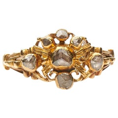 Antique, 17th Century, Rose-Cut Diamond Ring