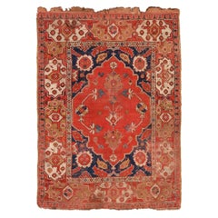 Antique 17th Century Transylvanian Rug. 3 ft 10 in x 5 ft 3 in