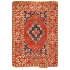 Antique 17th Century Transylvanian Rug. Size: 4 ft 2 in x 5 ft 9 in