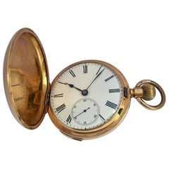Antique 18 Karat Gold Quarter Repeater Hand Winding Pocket Watch