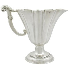 Antique 1820s Italian Sterling Silver Jug