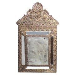 Antique 1880s Decorative French Mirror