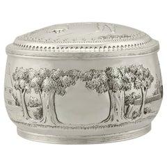 Antique 1890s Dutch Silver Box