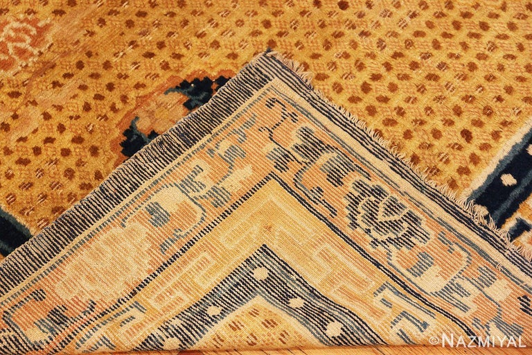 Antique 18th Century Chinese Ningxia Rug For Sale 2