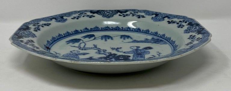 Antique 18th Century Chinese Plate In Good Condition For Sale In New Orleans, LA
