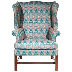 Antique 18th Century Chippendale Wing Chair