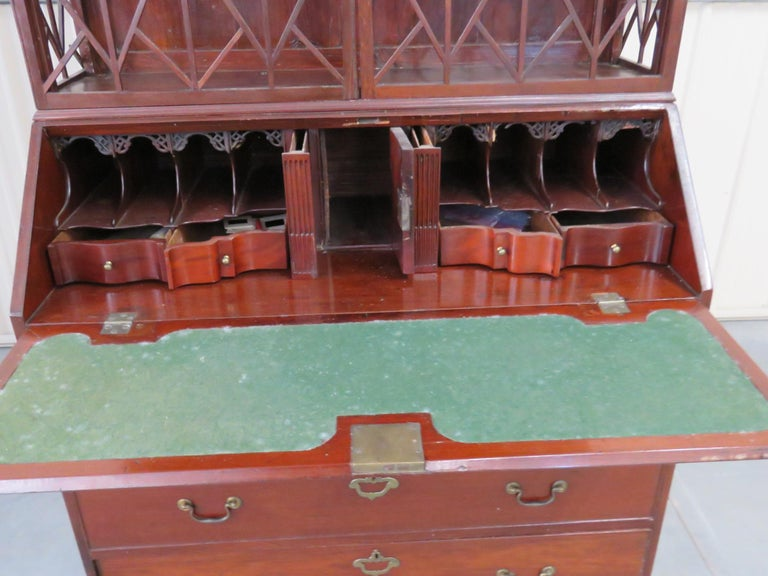 Antique 18th Century Federal Style Secretary Desk 1