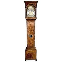 Antique 18th Century George I Walnut Longcase Clock