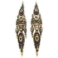 18th Century and Earlier Chandelier Earrings