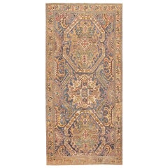 Antique 18th Century Karabagh Rug. Size: 9 ft x 19 ft 6 in (2.74 m x 5.94 m)