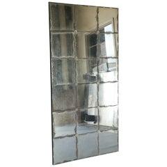 Antique 18th Century Mercury Glass Fragment Mirror