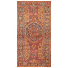 Antique 18th Century Turkish Smyrna Rug