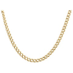Antique 1900s Gold Necklace / Watch Chain