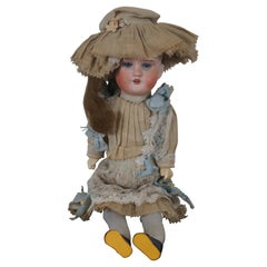 Antique 1910s Armand Marseille Bisque Head Wiefel W & Co Character Doll