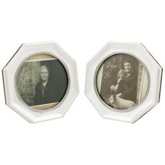 Antique 1910s Sterling Silver Photograph Frames