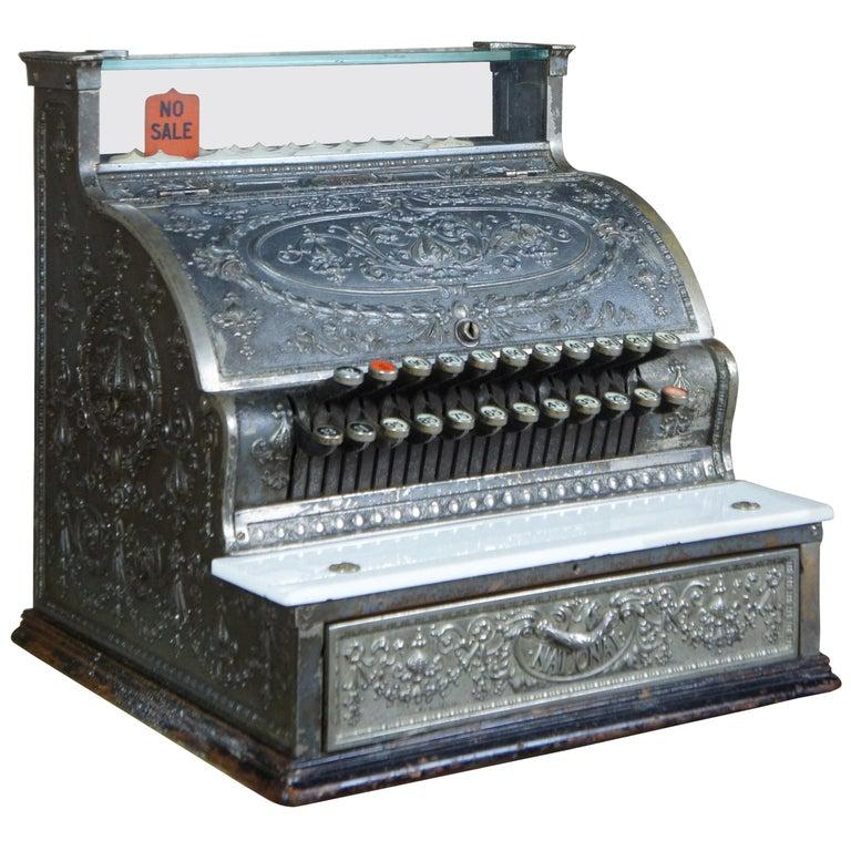 Sale for cash national register Antique Cash