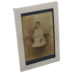 Antique 1918 Sterling Silver Photograph Frame