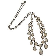 Antique 1920's Moonstone Necklace