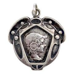 Art Nouveau Pendant Necklaces