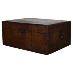 Antique 19th Century Mahogany Silverware Chest, circa 1880