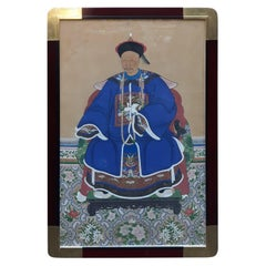 Antique 19th Century Ancestral Painting