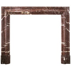 Antique 19th Century Bolection Molded Fireplace Surround