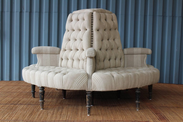 Antique 19th Century Boudoir Sofa, France For Sale 4