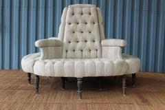 Antique 19th Century Boudoir Sofa, France