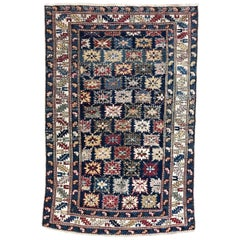 Antique 19th Century Caucasian Chirwan Kouba Rug