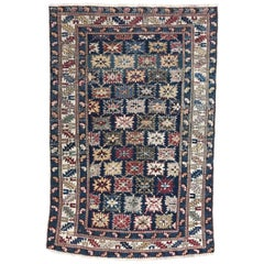 Antique 19th Century Caucasian Chirwan Rug