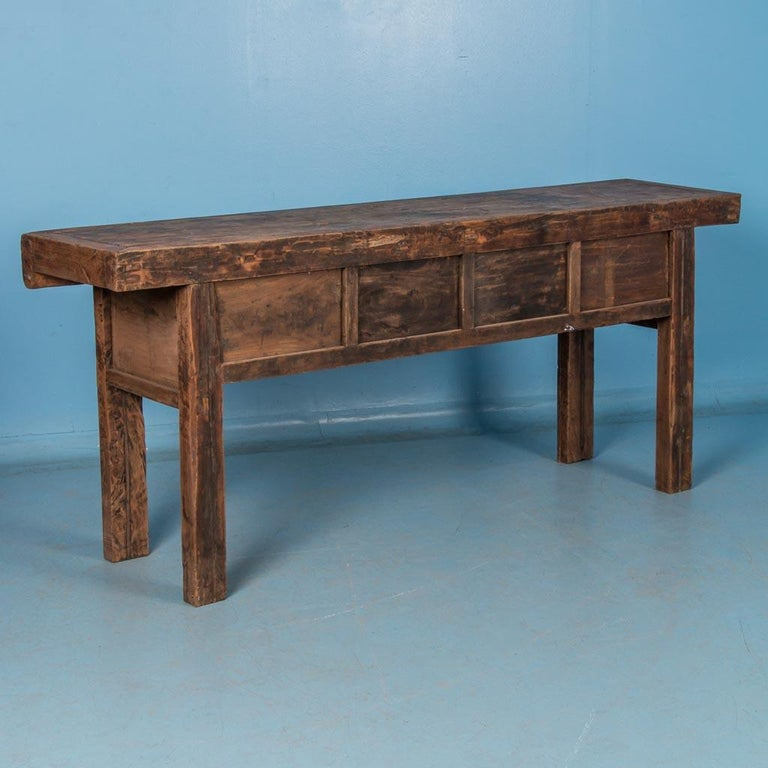 Antique 19th Century Chinese Console Table For Sale 1