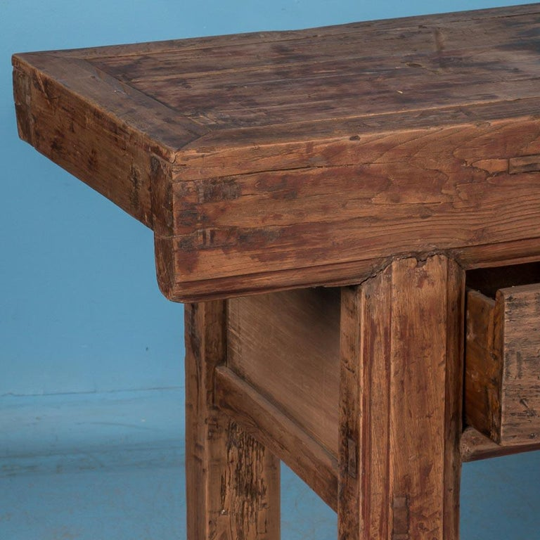 Antique 19th Century Chinese Console Table For Sale 2