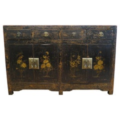 Antique 19th Century Chinese Sideboard