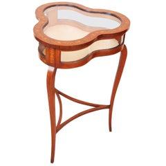 Antique 19th Century Clover Shaped Bijouterie Table