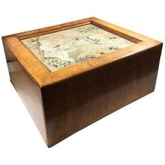 Antique 19th Century English Yew Wood Document Box